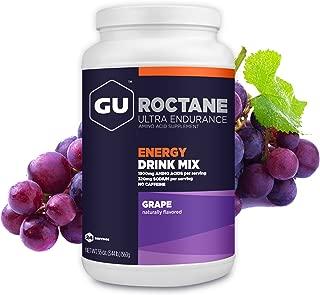 GU Energy Roctane Ultra Endurance Energy Drink Mix, Grape, 3.44-Pound Jar