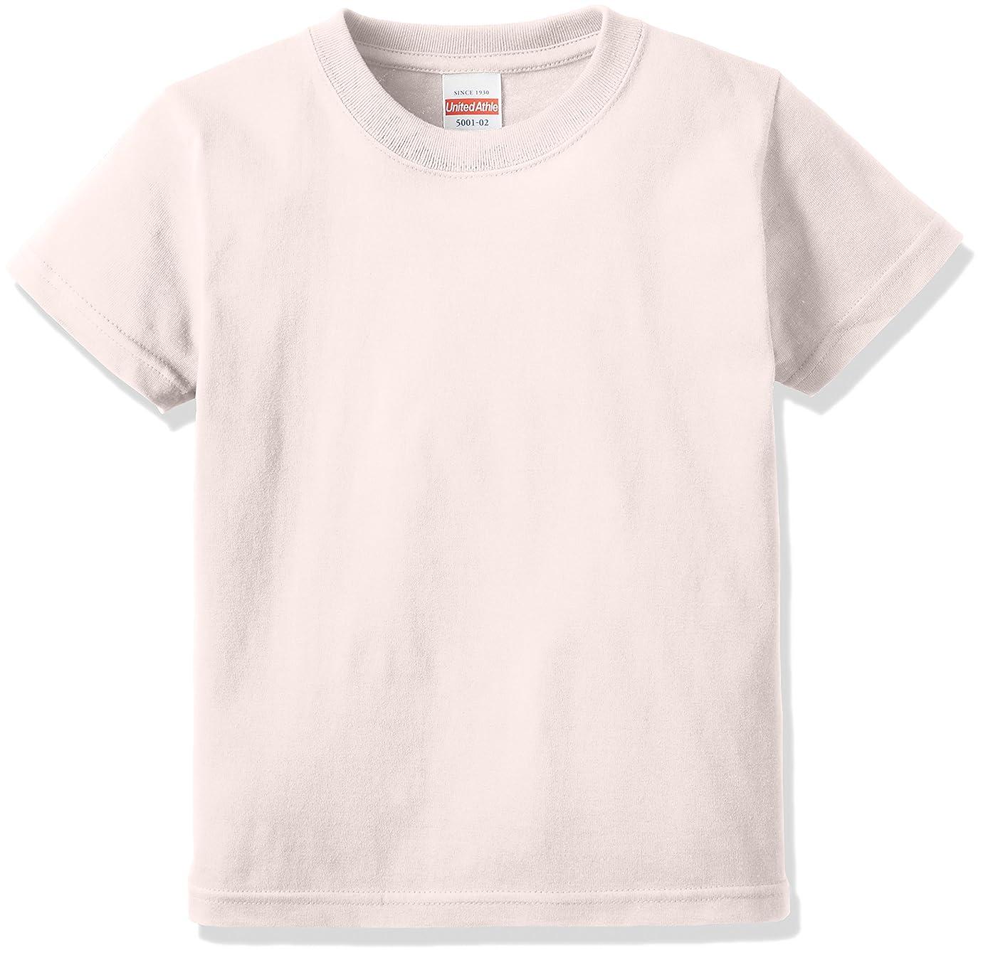 定期的アルカトラズ島現金(ユナイテッドアスレ)UnitedAthle 5.6オンス ハイクオリティー Tシャツ 500102 [キッズ]