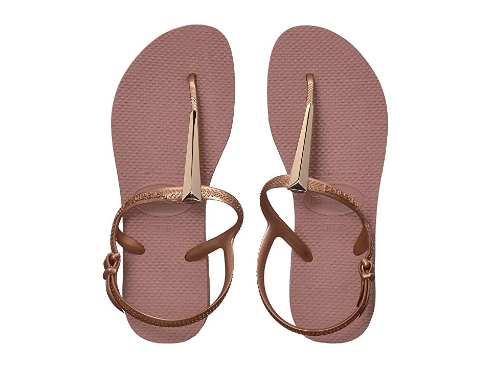 Havaianas Freedom SL Maxi Flip-Flops (Crocus Rose) Women