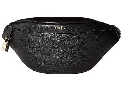 Furla Piper Small Belt Bag (Nero) Handbags