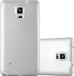 Cadorabo Funda para Samsung Galaxy Note 4 en Metal Plato - Cubierta Protección de Plástico Duro Super Delgada e Inflexible con Antichoque - Case Cover Carcasa Protectora Ligera