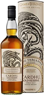Cardhu Gold Reserve Single Malt Scotch Whisky - Haus Targaryen Game of Thrones Limitierte Edition 1 x 0.7 l
