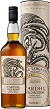 Cardhu Gold Reserve – Whisky escocés puro de malta – Edición limitada Juego de Tronos: Casa Targaryen – 700 ml