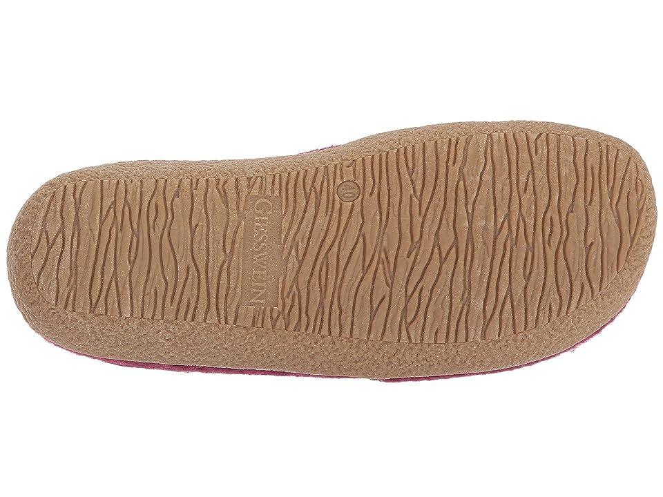 Giesswein Clara (Bordeaux) Women's Slippers, Burgundy