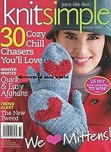 Knit Simple Magazine Winter 2015 Knitting Sewing