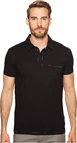 BOSS Orange - Percept Pocket Polo w/ Contrast Stitch