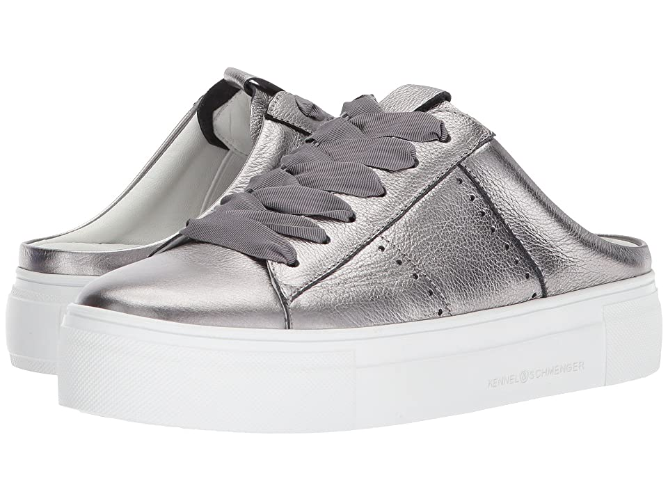 Kennel & Schmenger Big Slip-On (Alluminio Metallic Calf) Women