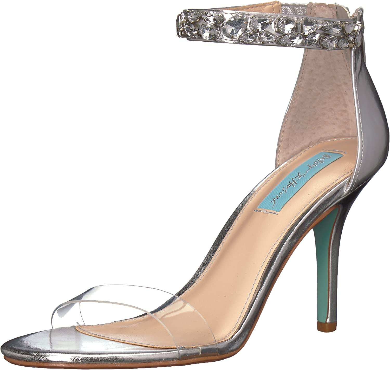 Betsey Johnson Womens SB-Drew Heeled Sandal