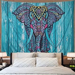 Best blue elephant tapestry Reviews