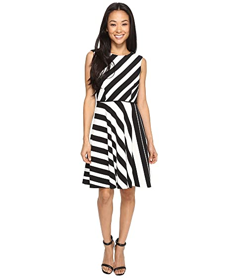 A Dress Multi Stripe by Petite Line Crepe ASL Tahari WnYOzxvFp