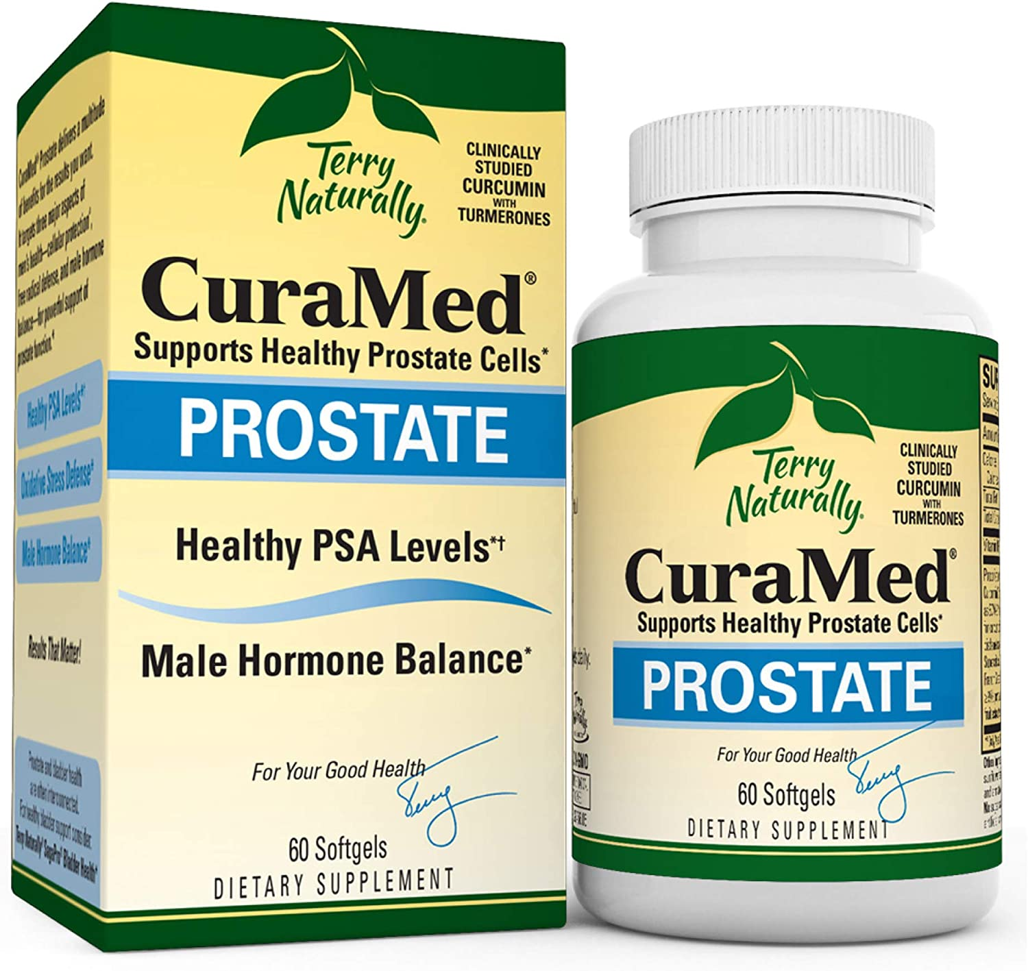 Max 78% OFF Terry Naturally CuraMed Prostate - Complex BCM-95 Curcumin S Sales 60
