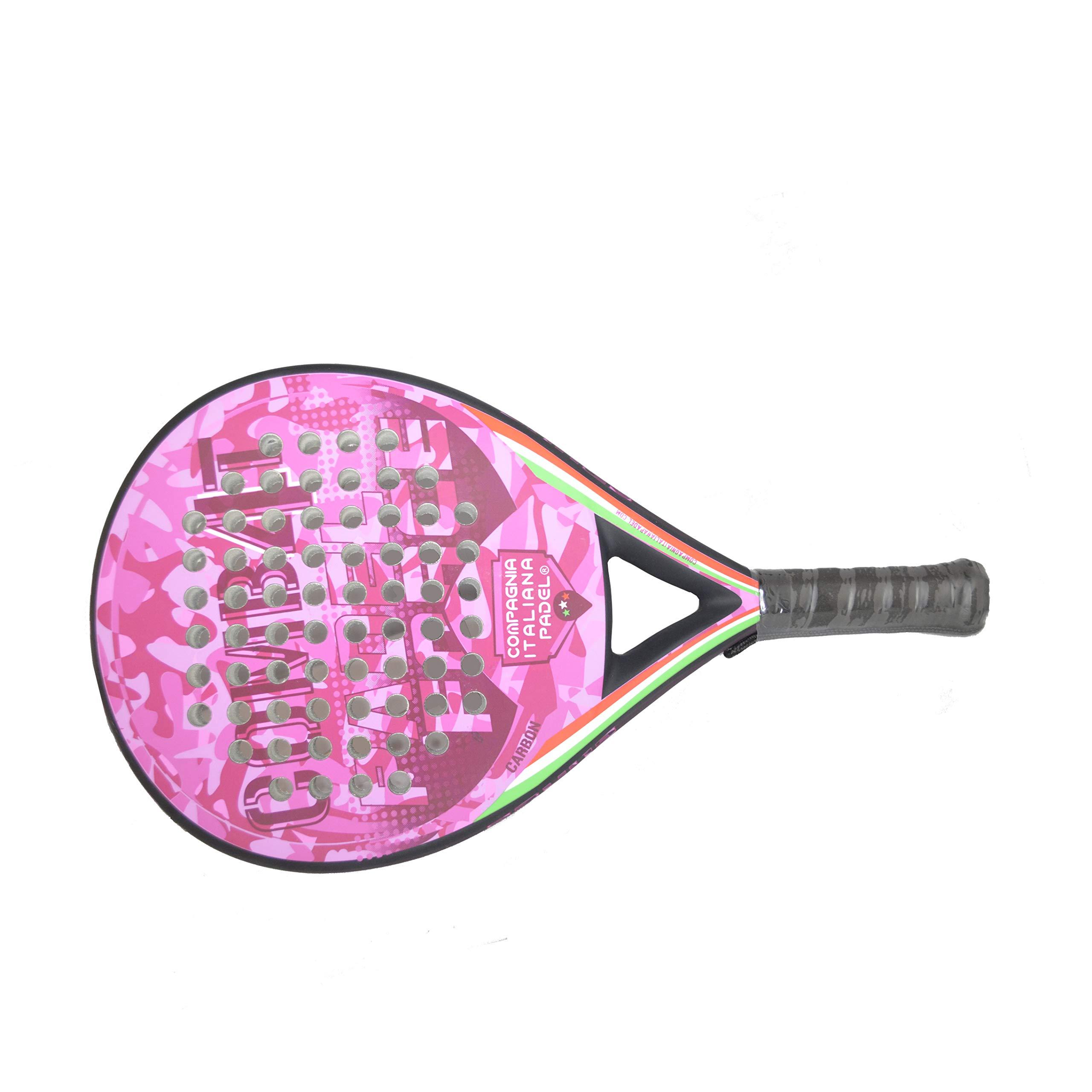 Pala Pádel de Carbono Combat 4 Rosa Mate: Amazon.es: Deportes y ...
