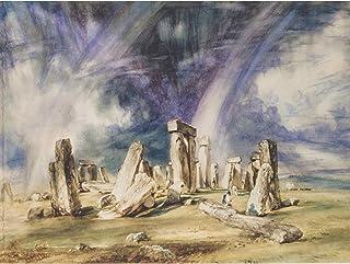 John Constable Stonehenge Large Wall Art Print Canvas Premium Poster Mural