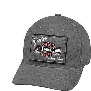 Official Men's Genuine Logo Patch Cap, Grey