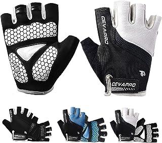 Keaplayee Men Cycling Gloves Bicycling Gloves Biking...