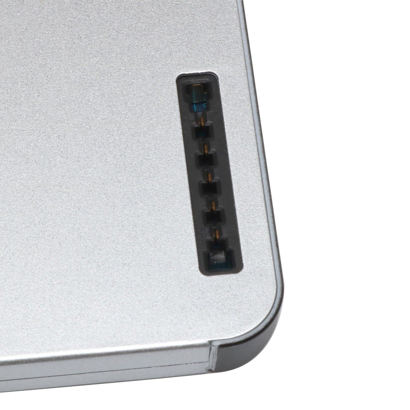 MB466LL//A Aluminum Unibody MB467LL//A Elecbrain/® 45WH Laptop Battery for Apple A1278 A1280 Macbook 13-Inch Late 2008 Aluminum Version