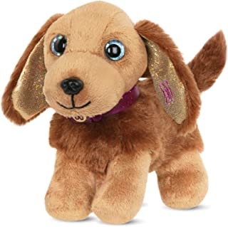 Glitter Girls by Battat – Hazel – Pet Plush Toy Dog – Puppy Pet Accessory for 14-inch Dolls – Toys, Clothes, and Accessories for Girls 3 and Up