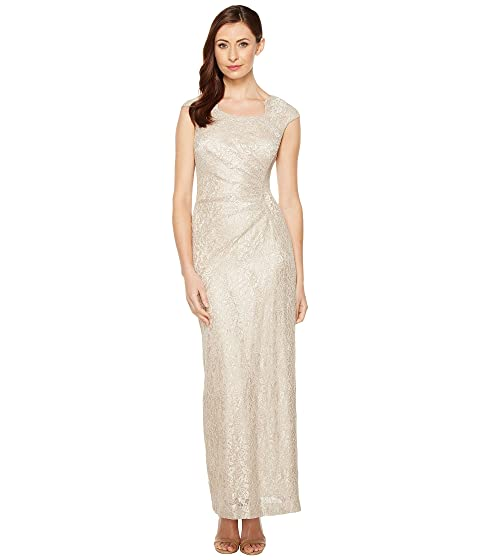 ec2d3dafc84e Tahari by ASL Horseshoe Neck Lace Gown at 6pm