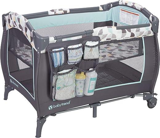 Baby Trend Trend-E Nursery Center, Doodle Dots