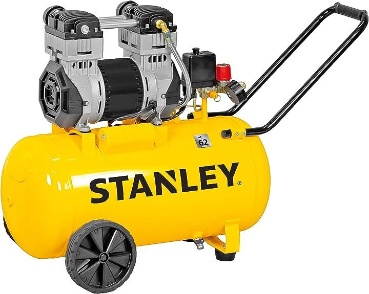 Compressore silenzioso 50 litri 2 hp 230 v stanley b2dc404stn707 B2DC404STN707