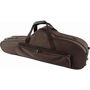 GEWA 708355 - Estuche con forma para saxo tenor, serie Compact, ligero, exterior color marrón: Amazon.es: Instrumentos musicales