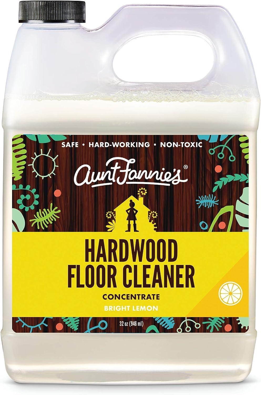 Aunt Year-end gift Fannie's Hardwood Floor Lemon Single 5% OFF Cleaner Bright