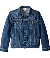 Gucci Kids - Stone Washed Denim Jacket (Little Kids/Big Kids)