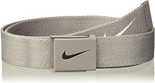 Nike Mens Tech Essential Belt, Light Charcoal, One Size