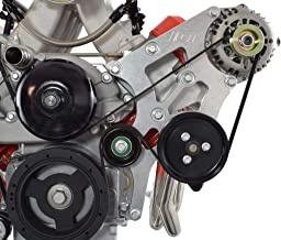 ICT Billet LS Swap Alternator and Power Steering Bracket Kit Corvette Compatible with BMW 330i E46 LS1 LS3 LSX 4.8L 5.3L 6.0L 551796-1