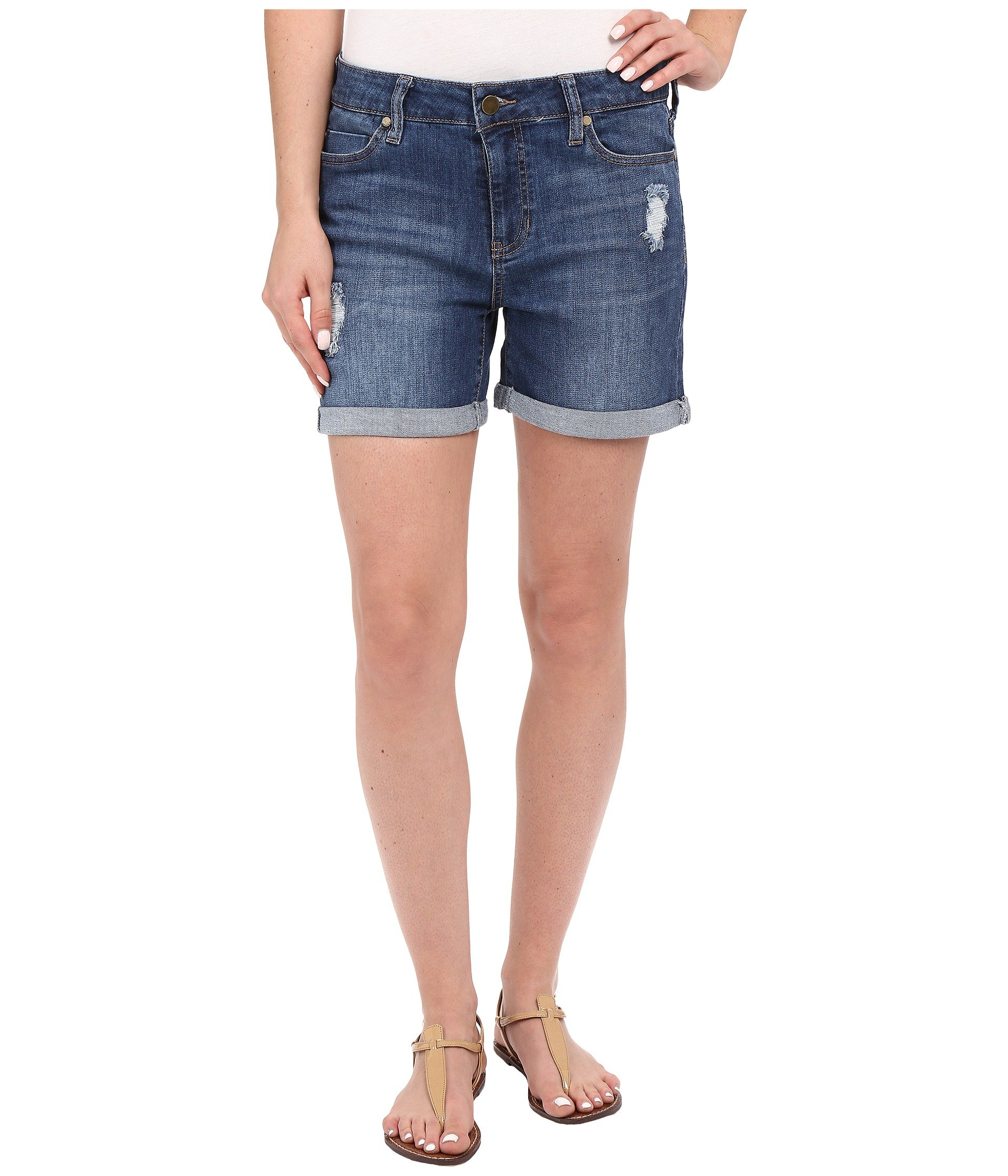 Blue Vickie Mid Montauk Liverpool In Destruction Shorts W 0AAB6nv