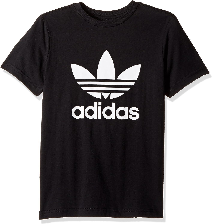 unos pocos Reparador Disipar  Amazon.com: adidas Originals Boys' Kids Trefoil Tee: Clothing