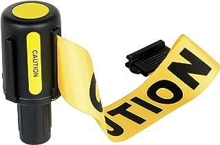 Vestil WBS-CAUTION 12' Web Barrier Stake Caution Reel