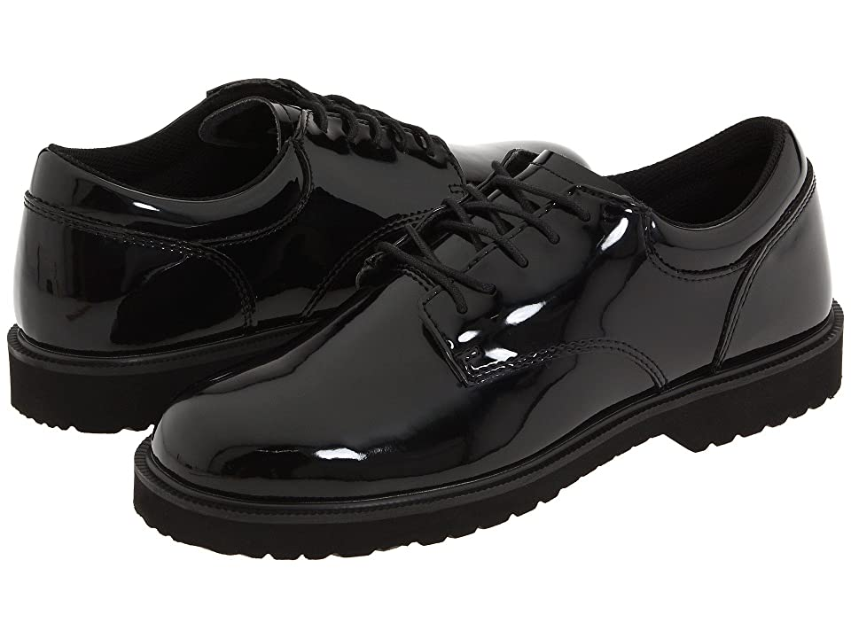 Bates Footwear - Bates Footwear High Gloss Uniform Oxford