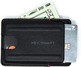 KeySmart Urban Slim Wallet (Charcoal Black)
