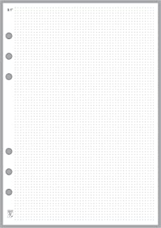 A5 Size Dot Grid Paper Refill (0.10