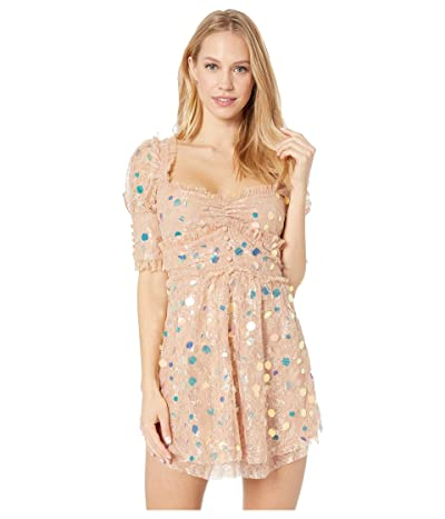 For Love and Lemons Ace Mini Dress (Nude) Women
