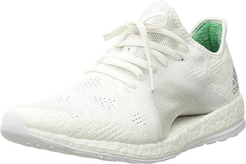 Adidas Wohommes Pureboost X Element Running chaussures, blanc gris Two vert, 10.5 M US