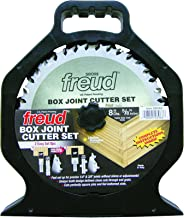"Freud 8"" x 20T Box Joint Cutter Set (SBOX8)"