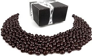 Marich Dark Chocolate Pistachios, 1 lb Bag in a BlackTie Box