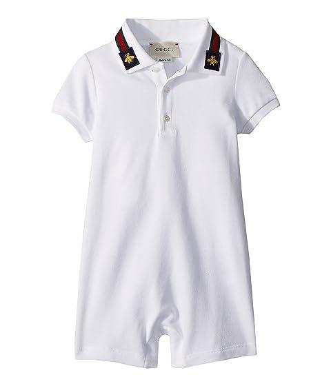 c0f55f6473f Gucci Kids Sleepsuit 497861X9L97 (Infant) at Luxury.Zappos.com