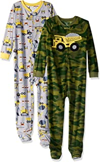 Boys' 2-Pack Fleece Pajamas