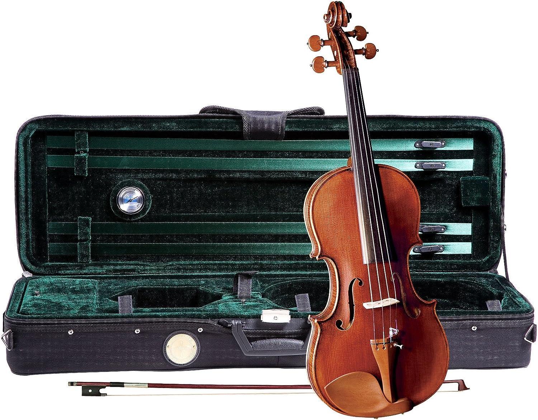 Cremona SV-1500 Super intense SALE OFFer Master Series Violin 4 Size Outfit -
