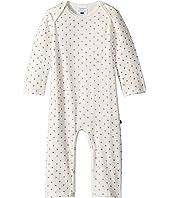 Toobydoo Heart Print Slimleg Jumpsuit (Infant)