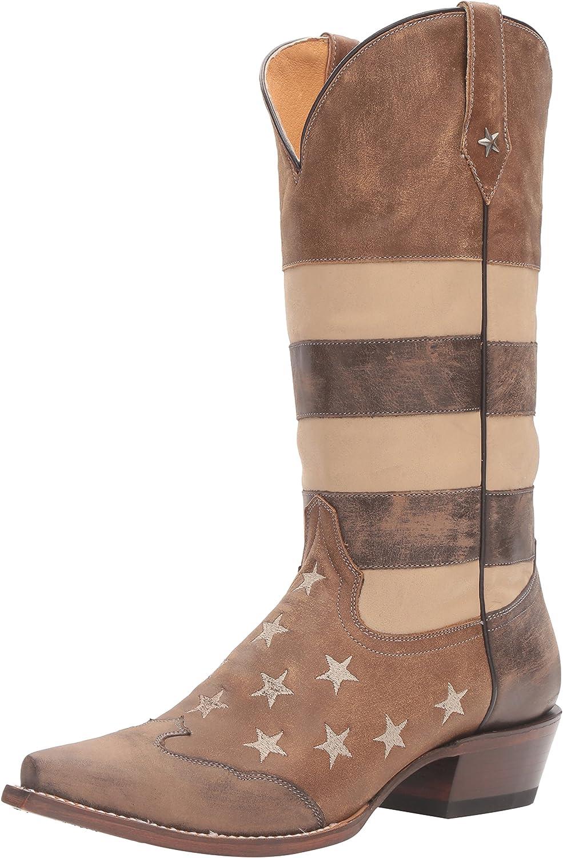 Roper Women's Vintage Americana Flag Work Boot