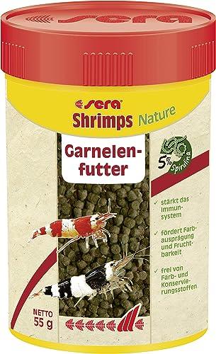 SERA Shrimps Natural Nourriture pour Aquariophilie 100 ML