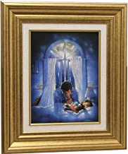 Ron DiCianni SPIRITUAL WARFARE CANVAS Framed w/liner CHRISTIAN ART Prayer Inspirational