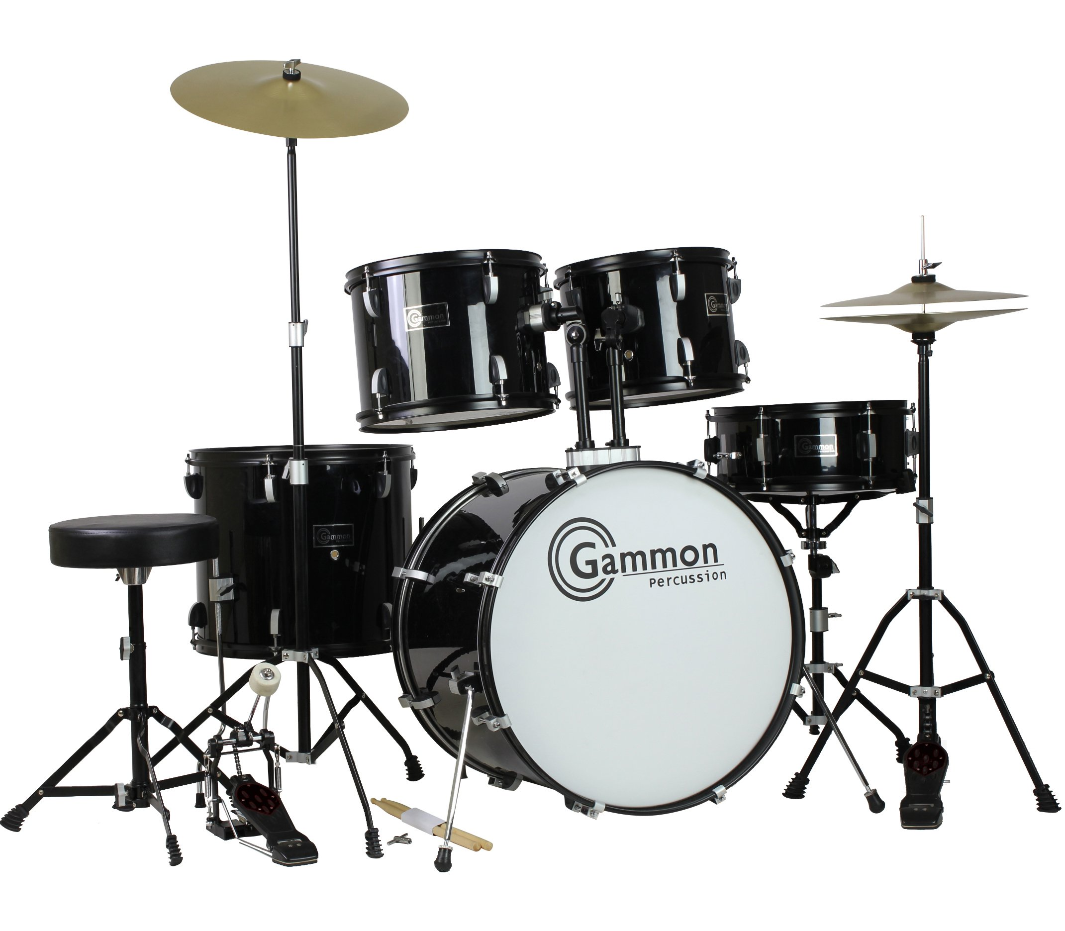 Gammon Percussion Complete Cymbals Stands