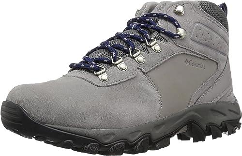 Columbia Men's Newton Ridge Plus II Suede Waterproof Wide Hiking schuhe, ti Titanium, Cousteau, 10.5 Wide US