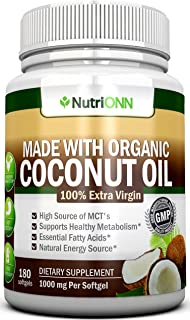 Best purely inspired coconut oil 80 softgels Reviews
