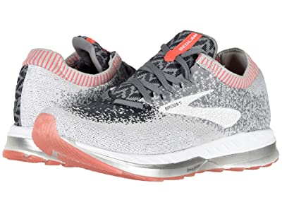 Brooks Bedlam (Grey/Coral/White) Women